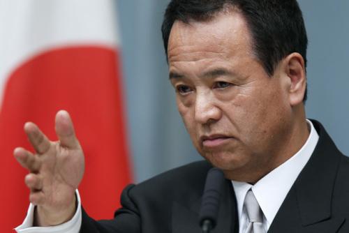 日本经济大臣患舌癌向安倍辞职未获得同意(图)