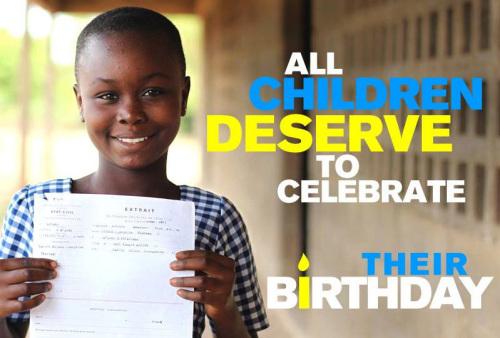 报告称全球近1/3五岁以下儿童无出生登记或证明