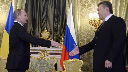 分析称普京出手救助乌克兰可能是一步险棋(图)