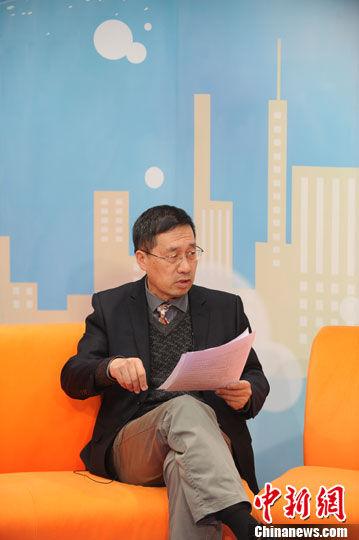 中国国际问题研究所副所长郭宪纲27日做客中新网,解读2013年国际形势。中新网记者 张越 摄