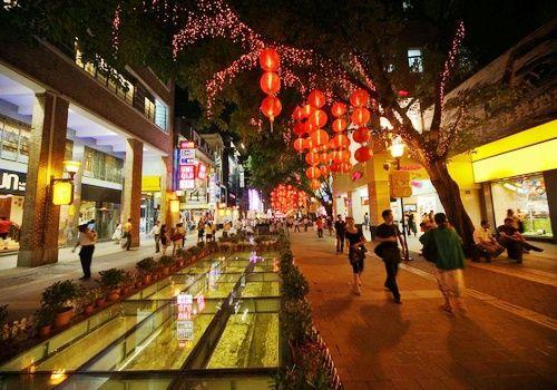 广州购物街_上下九步行街_北京路步行街