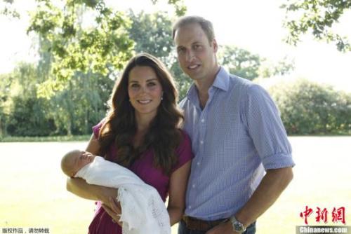 英国小王子将迎首个圣诞节众亲人捧场王宫住不下