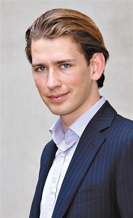 奥地利新外交部长仅27岁成欧盟最年轻外长(图)