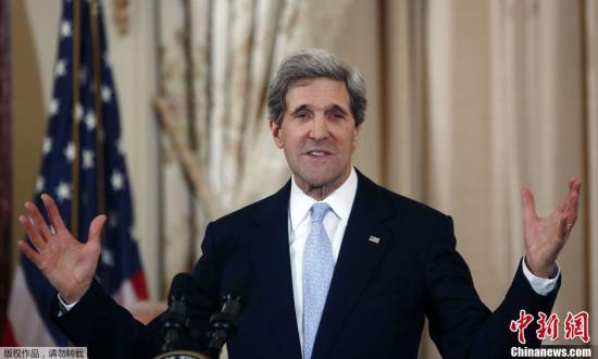 巴以和谈前景黯淡克里24小时内三会以色列总理