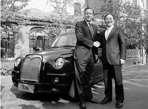 英国首相卡梅伦中国行 单独会见浙商马云李书福