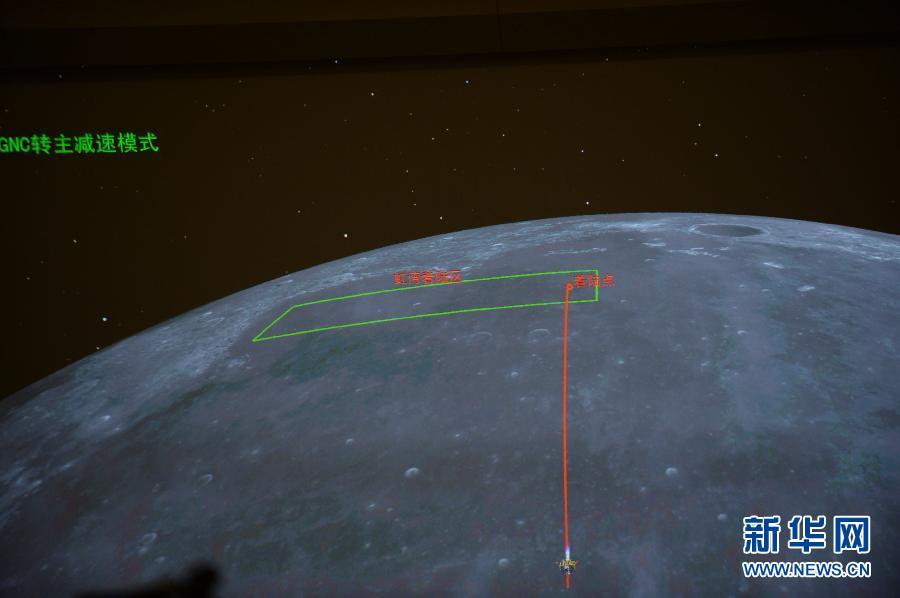 (嫦娥三号)(1)嫦娥三号开始落月