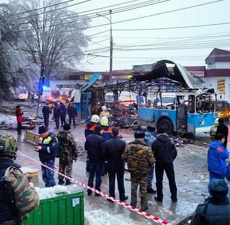 俄伏尔加格勒连发恐袭电车爆炸14人死28人伤