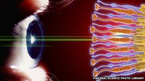 """科学家利用3D打印技术""""打印""""出眼睛细胞(图)"""