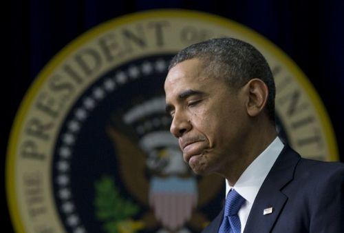 民调:奥巴马支持率陷低谷失对共和党优势(图)