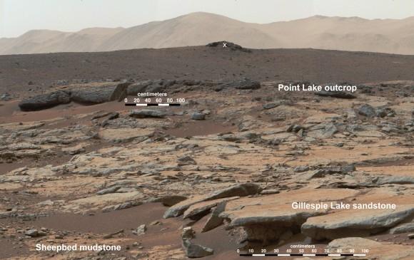 好奇号又有大发现 找到火星存淡水湖证据