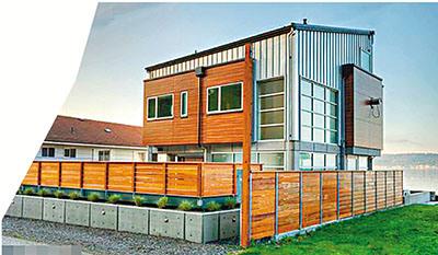 建筑师设计超安全房屋可抵御海啸冲击防7级地震