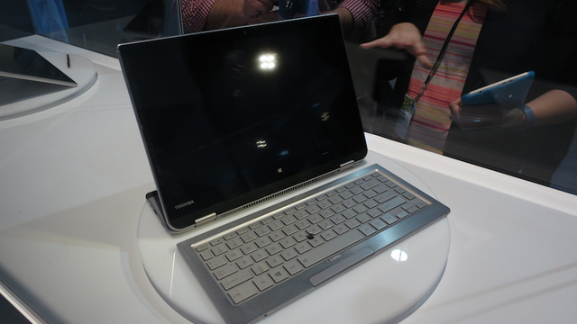 Toshiba Crammed 5 Computers in Its Shape-Shifting Concept 5-in-1 PC