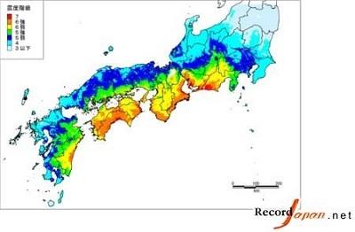 日本教授预测春季之前日或发生南海海槽大地震