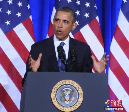 奥巴马将发表国情咨文 料摆强硬姿态欲挽回民望
