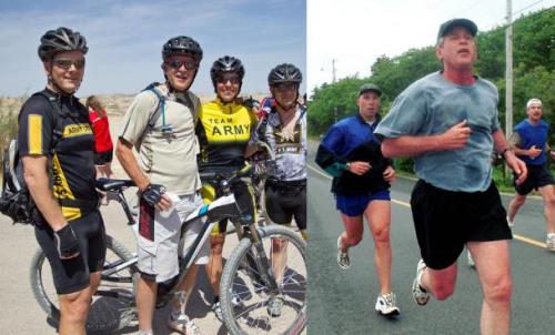 """美国前总统小布什是跑步狂人,要求哪里都要有跑步机:家里、办公室里、出访时住的套房、专机""""空军一号""""上,甚至女王在白金汉宫里也为他准备了健身器材,不过这次跑步机换成了单车健身器。"""