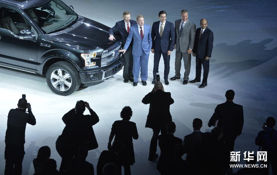 (国际)(2)北美国际汽车展在底特律开幕