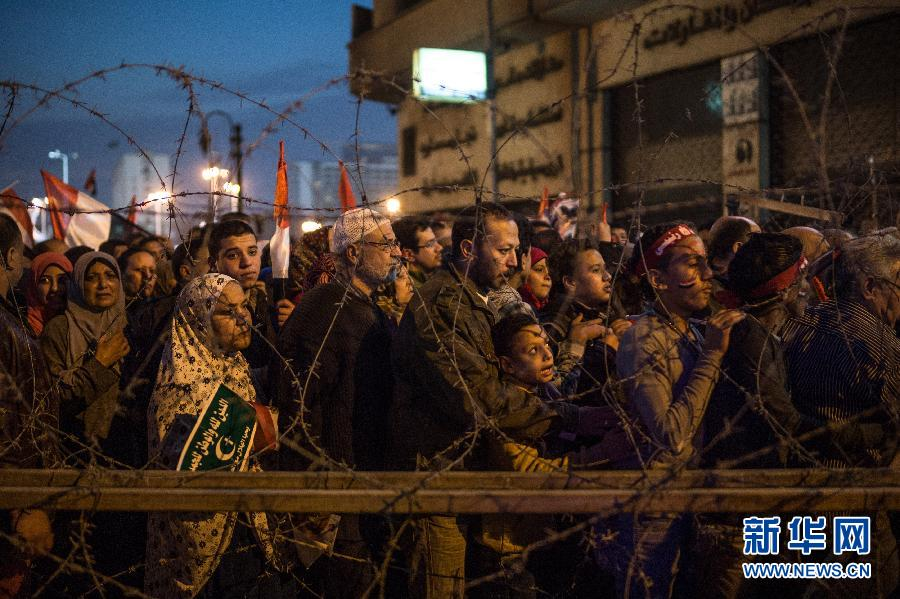(XHDW)(4)埃及民众庆祝推翻穆巴拉克政权三周年