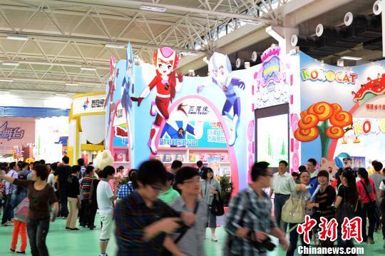 中国国际动漫现场 杭州高新区(滨江)文创办 摄