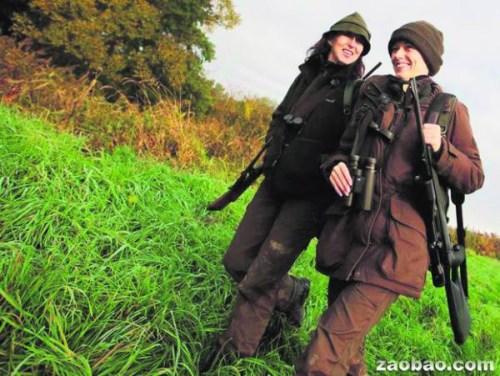 奥地利万名女性当上猎人枪法比男性还要准(图)