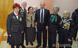 普京呼吁铭记苏联人民与被围困列宁格勒市民功勋