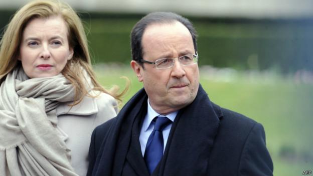 提得起放得下:法国总统奥朗德情场得意(图)