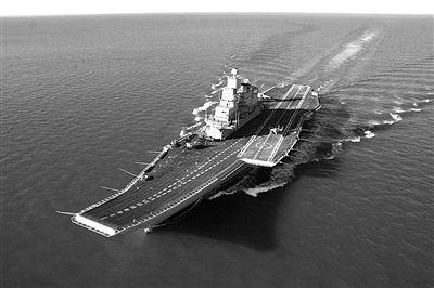 印度第三艘航母抵港 系23亿美元从俄罗斯购得
