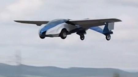 设计师成功研发飞行汽车最高时速达200公里(图)