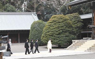 上月26日,安倍参拜靖国神社。