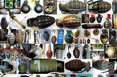 美国运输安全管理局公布了过去一年在美国全国机场旅客身上搜出的武器照片