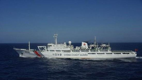 日媒:2013年中国海警船进入钓鱼岛12海里共54天