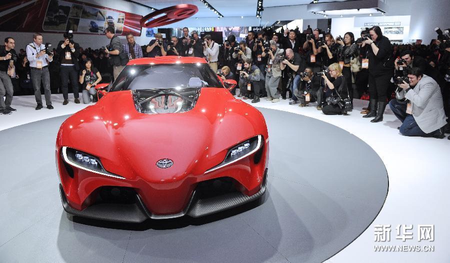 (国际)(3)北美国际汽车展在底特律开幕
