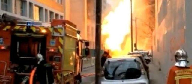 法国发生煤气泄漏引发大火 致1人失踪4人受伤