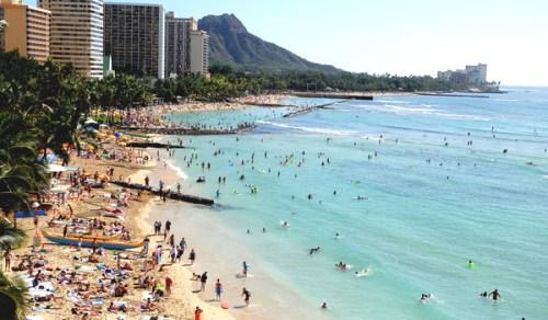 太平洋海平面上升快夏威夷海滩遭严重侵蚀
