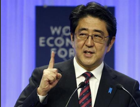 Link to China slams Abe's Davos implication