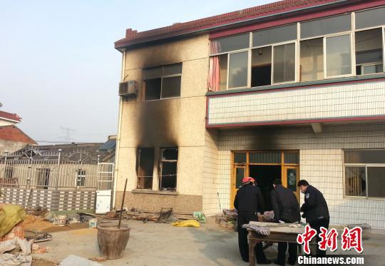 1月3日,扬州仪征发生刑事案件5人死亡。图为案发现场。 凯涛 摄