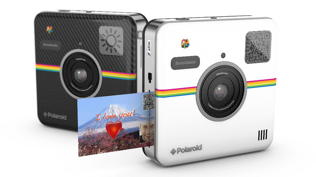 Polaroid\'s Socialmatic Camera Is All About Sharing Your Shots