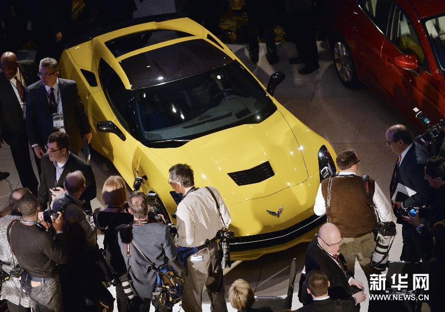 (国际)(4)北美国际汽车展在底特律开幕