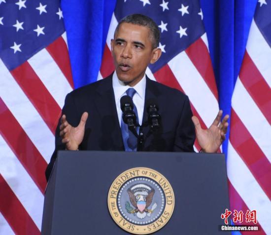 民调:奥巴马形象好感度上升但执政能力遭质疑