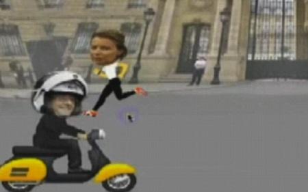 帮总统消除路障:奥朗德绯闻主题小游戏风靡法国