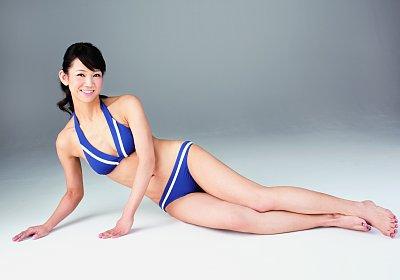 图为43岁的竹山亚纪子。