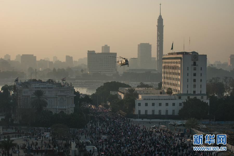 (XHDW)(2)埃及民众庆祝推翻穆巴拉克政权三周年