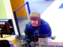 一年间持枪连抢10家银行美国60岁男子被捕(图)