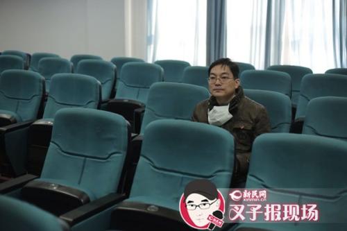 图说:举报人王宇澄。新民网记者 萧君玮 摄
