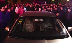 汽车底盘发现疑似炸弹 拆除后发现是GPS跟踪器