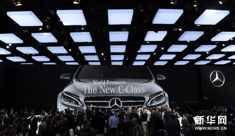 (国际)(1)北美国际汽车展在底特律开幕