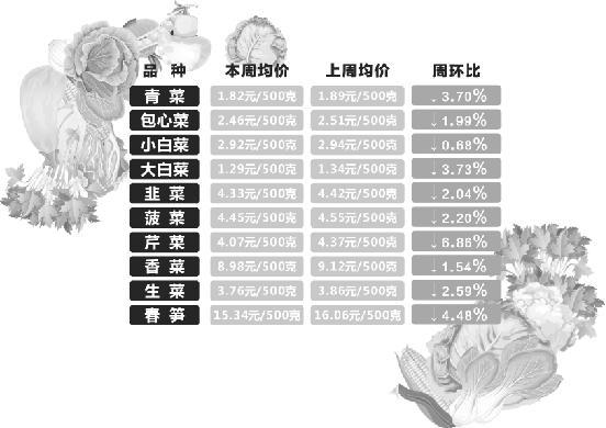 杭城时令春菜始上市 68元一斤的香椿吓退尝鲜客