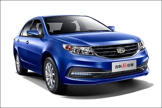 吉利新远景官图发布 将于广州车展上市高清图片